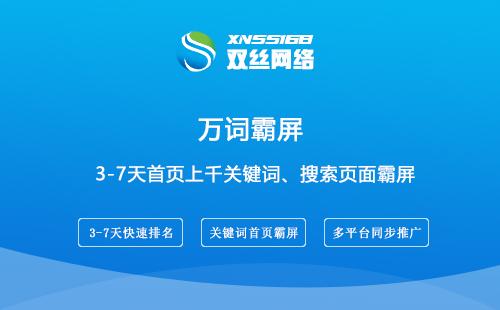 铜仁网络推广公司谈什么是万词霸屏